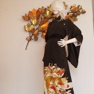Vintage Tomesode Formal Kimono
